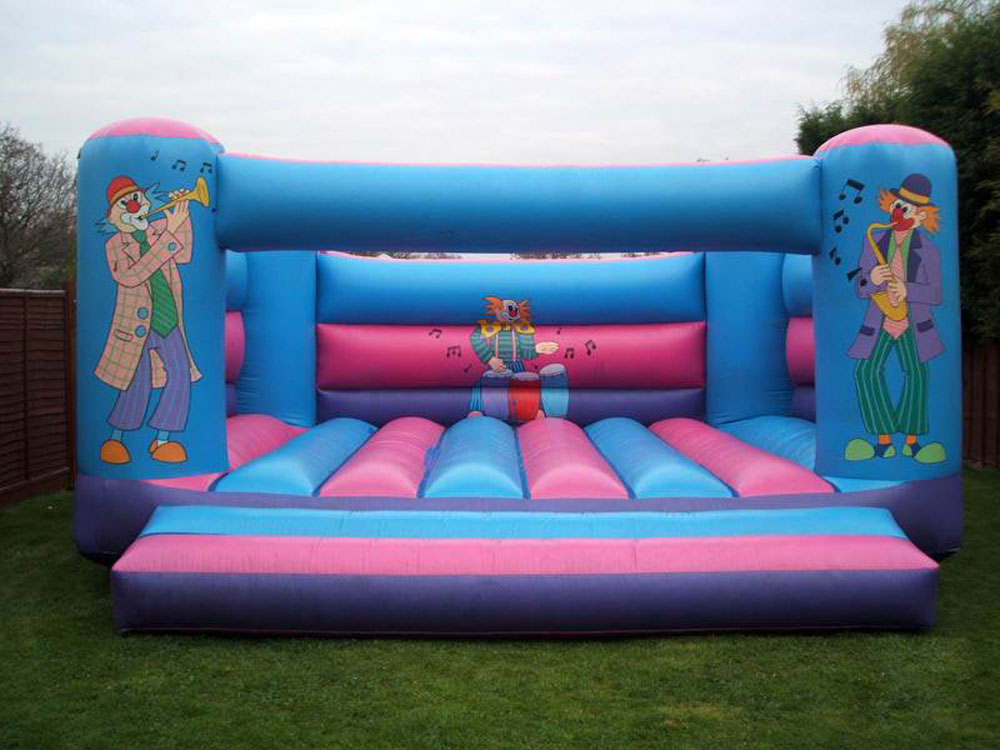 Clown Bouncy Castle - (Adult) 20ftx20ft